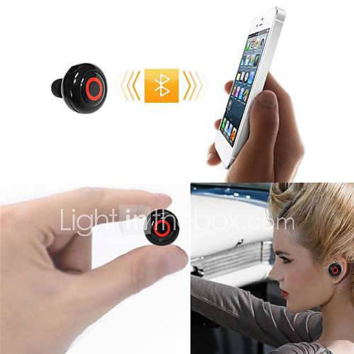 casque bluetooth v3.0 dans l'oreille stéréo avec microphone sports pour iPhone 6 / iphone 6 plus (couleurs assorties)