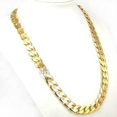 Necklace Chunky Link Gold Chain Necklace Alloy Men's Jewelry  for Men/Women 60cm 1pc Christmas Gifts