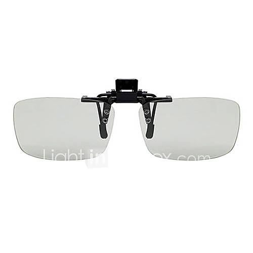 Reedoon Polarized Light Patterned Retarder Myopia Clamping Piece Suits of 3D Glasses for 3D TV