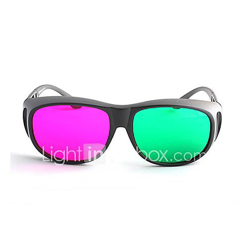 MK High Definition Green Red 3D Glasses for Computer and TV