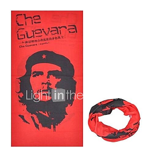 KORAMAN Summer Freedom Fighters Red Thin Anti-UV Sun-proof Cycling Magic Scarf Headband