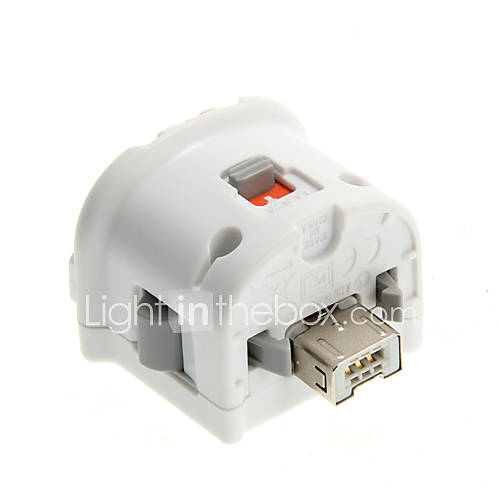 Premium MotionPlus para Mando Wii (Blanco) Descuento en Miniinthebox