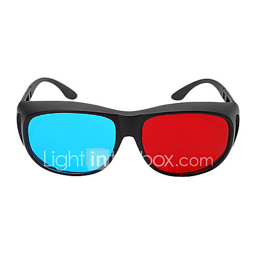 MK Red Blue 3D Glasses for Computer and 3D TV