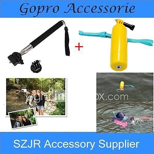 Accessori GoPro 2 in 1 galleggiante