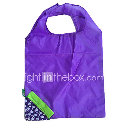umweltfreundliche blaue Traube Design Klappeinkaufstasche