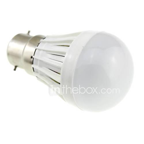 b22 2W 18x2835 SMD LED 180lm 6000k kühlen weißes Licht Kugelbirne (AC 220 V)