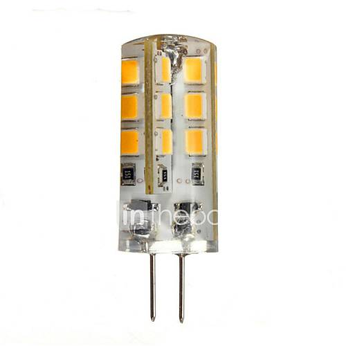 1.5W G4 2-pins LED-lampen 24 SMD 2835 130-150 lm Warm wit 2800-3200 K DC 12 V