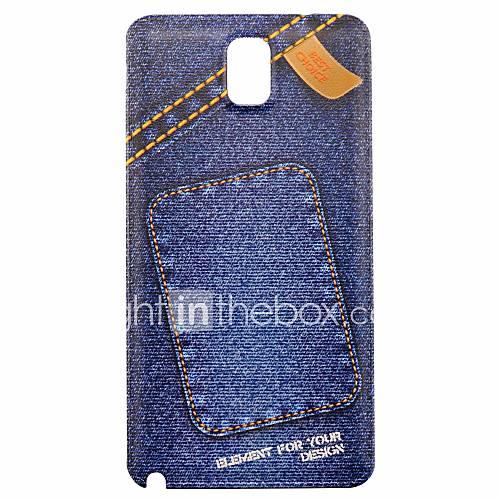 Mode ultradünnen PC-Fest relievo rückseitigen Abdeckung für Samsung Galaxy N9000 Anmerkung3
