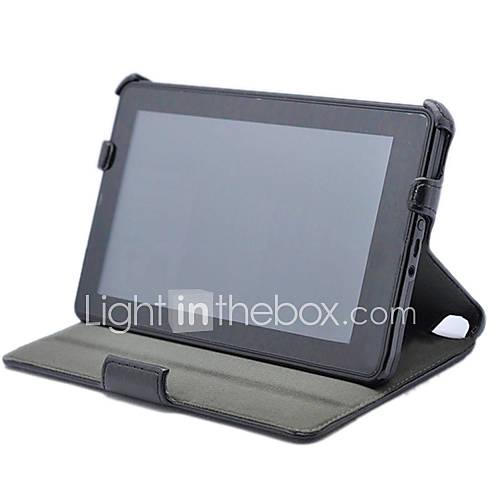 ultradünne PU Ledertasche mit Ständer für Kindle Fire HD