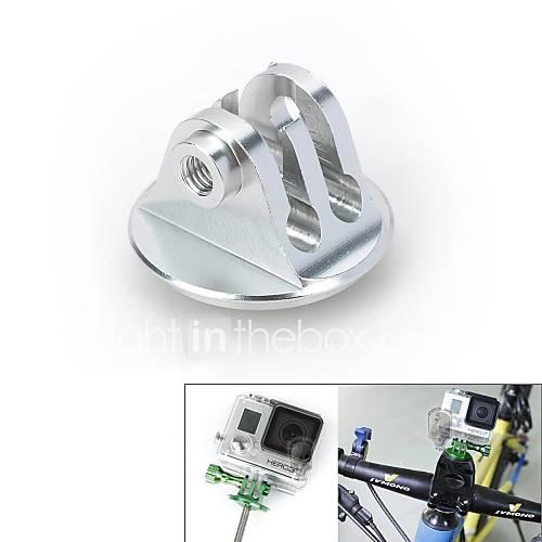 vina CNC Aluminium-Legierung Fahrrad Headset Mount-Adapter w / Schraube für GoPro Hero 3  / 3/2/1 / sj4000