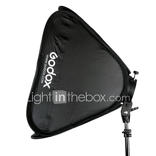 GODOX S-Typ Speedlite Halterung  40  40cm tragbare Softbox für Kamerablitz