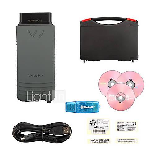 VAS 5054A Bluetooth v2.0 odis VAG Diagnose-Werkzeug für VW Audi Skoda Sitz