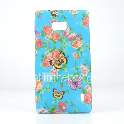 Fashional Design Colorful Butterfly Rose Back