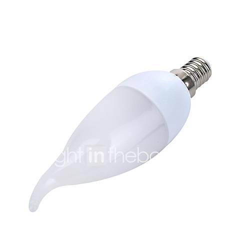 youoklight e14 2W 8  smd2835 150lm 3000K warm-weißes Licht LED Kerzenlampen (220 VAC)