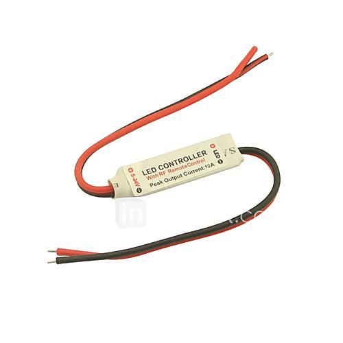 Mini rf romote Dimmer Controller 11 Tasten für 5050 3528 einfarbige LED-Streifen Licht (dc5-24v 6a)