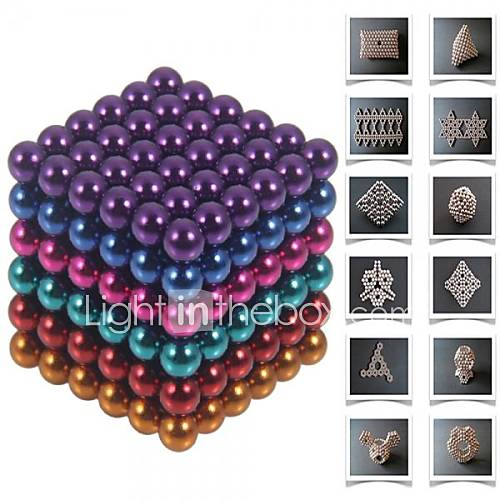 Magnet Toy Building Blocks Neodymium Magnet Magnetic Balls Buckyballs 216pcs 5mm Toys Magnet Magnetic Gift