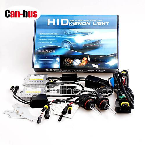 12V 55W H4 10000K High / Low Premium Ac Error-Free Canbus Hid Xenon Kit For Headlights