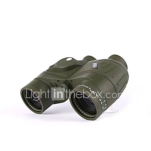 Bijia 7x50 wasserdicht und Nachtsicht-Fernglas Marine Fernrohr mit Entfernungsmesser