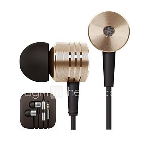 BBC1.0 3.5mm Volume Controllable In-ear Stereo Earphone with Microphone for iPod/iPad/iPhone