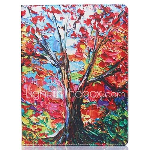 ENKAY Maple Tree Pattern Oil Painting