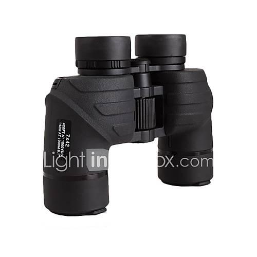 Bijia 7x42 High-Power-High-Definition-Stickstoffwasserdichtes Fernglas