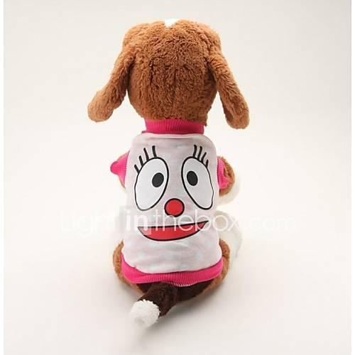 Perros Camiseta Azul / Rosado Ropa para Perro Verano Caricaturas Adorable / Casual/Diario Descuento en Miniinthebox