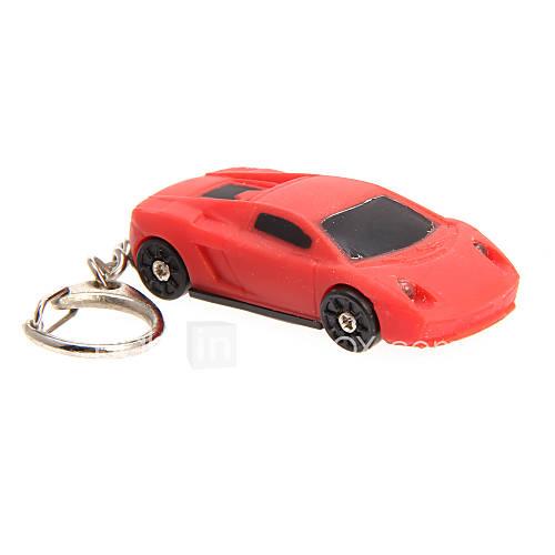 LED Lighting Key Chain Toys Key Chain LED Lighting Sound Car ABS Creative Cartoon Illuminated Fluorescent Luminous Pieces Christmas