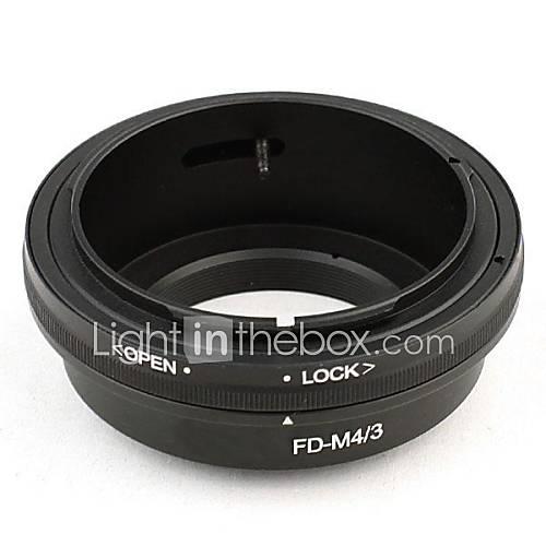 neewer Objektivanschluss-Adapter für Canon FD Objektiv zu Mikro 3.4 Olympus PEN und Panasonic Lumix Kameras