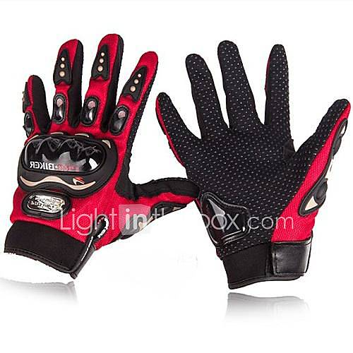 Full Finger Nylon Nylon Cotton Motorcycles Gloves