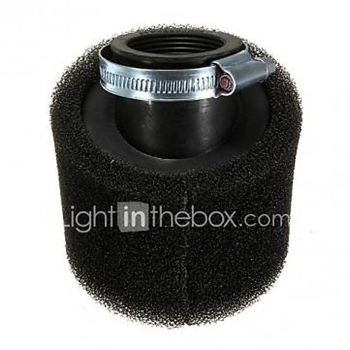 48MM Carbon Air Filter Cleaner For 200cc Pit Dirt Bike Scooter Motorcycle 4611