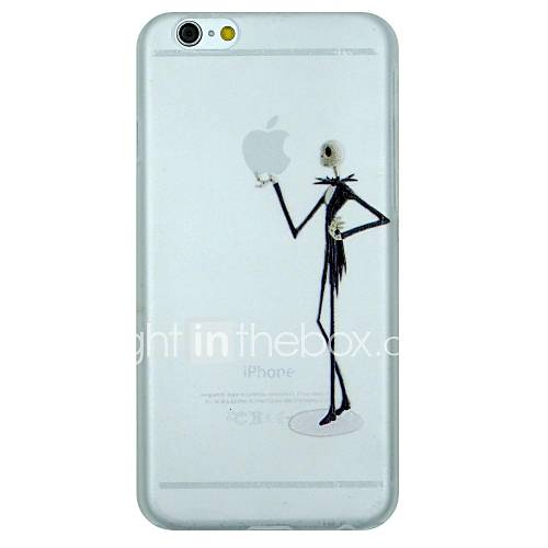 The Skeleton Gentleman Holding Apple Pattern