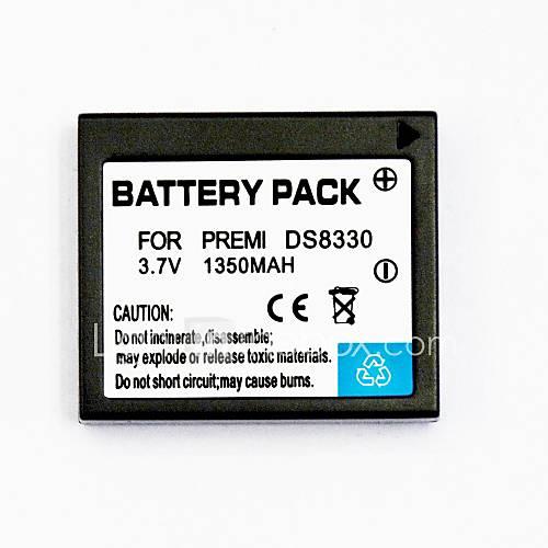 1350mAh Digitalkamera-Akku ds8330 für anwendbar Pentax ds8330 ds8340 ds-a350 sl-83 DS-7450