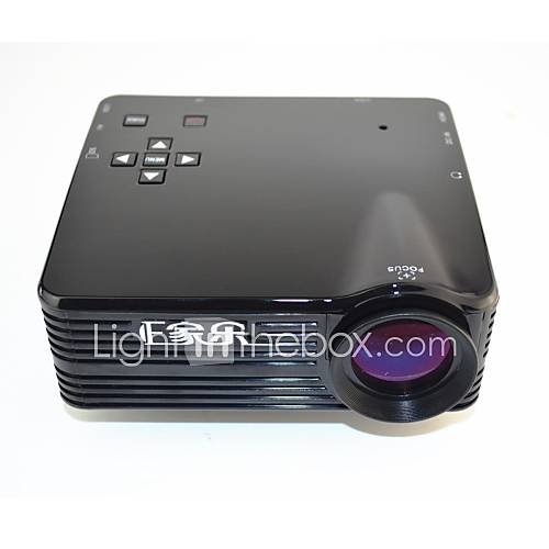 ejiale QVGA LCD Miniprojektor hdmi av vga usb sd (epq28)