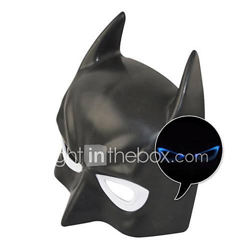 Cool Luminous LED Batman Mask for Halloween