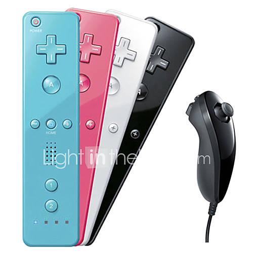 control remoto y nunchuk de Wii U / wii Miniinthebox por 14.69€