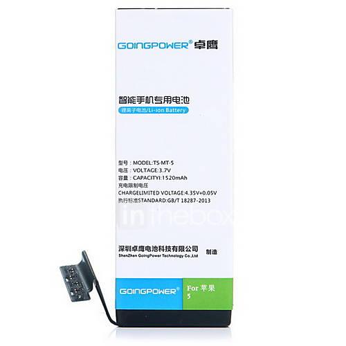GoingPower 3.7V 1520mAh batteria del