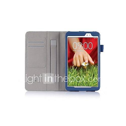 pajiatu PU-Leder stehen 8,3 '' Tablet-Kastenabdeckung mit Handhalter und Kartenslot für LG g Pad 8.3 v500 (farblich sortiert)
