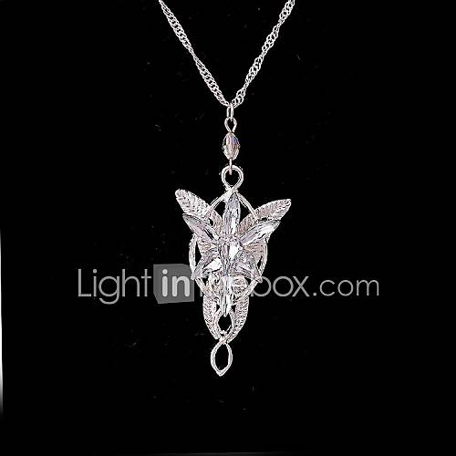Women's Pendant Necklaces Statement Necklaces Silver Plated Gold Plated Alloy Fashion Costume Jewelry Jewelry For Wedding Party Special