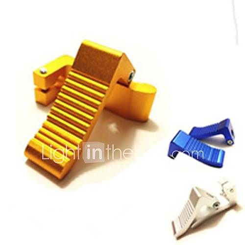High Performance CNC Foot Pegs Rest For Pocket Bike Gas Scooter Mini Motor 2 Stroke 49cc