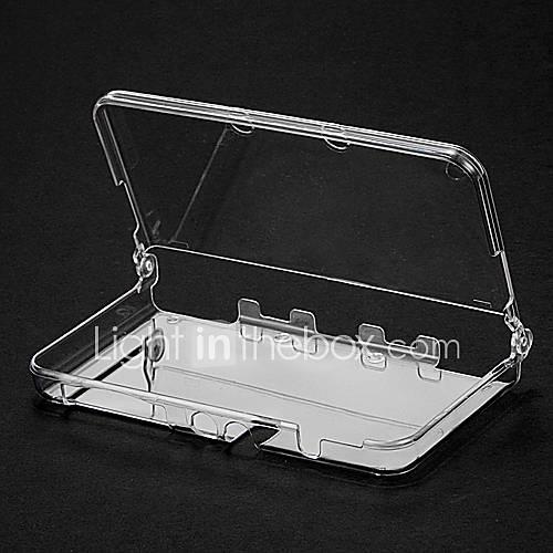 caja de cristal para la nueva cubierta transparente 3ds protectora Descuento en Miniinthebox