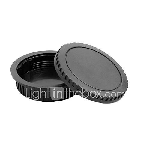 pajiatu Objektivrückdeckel  Kamera Gehäusedeckel für Canon EOS, wie 5d2 550d 600d 60d 5d3 5diii 1100d usw.