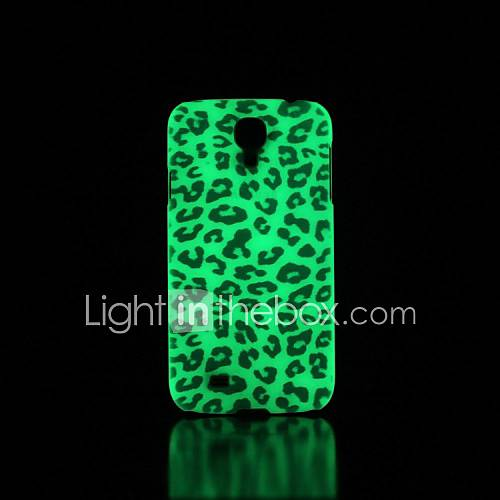 Leopardo modello bagliore nel buio custodia
