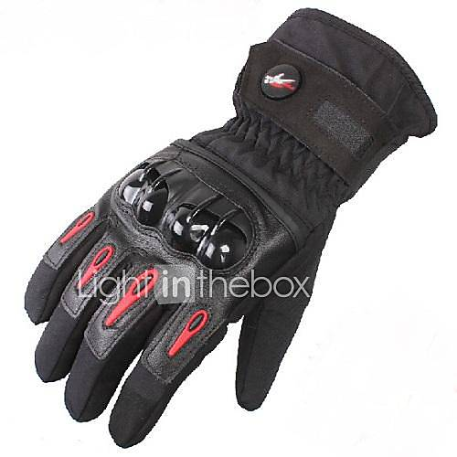 PRO-BIKER™ Winter Warm Windproof Waterproof Protective Full Finger Racing Bike Glove Motorcycle Gloves