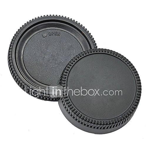 pajiatu Objektivrückdeckel  Kamera Gehäusedeckel für Nikon D5100 D3100 D7000 D5000 D90 D80 D3 D2H D2X D200 D300 usw.
