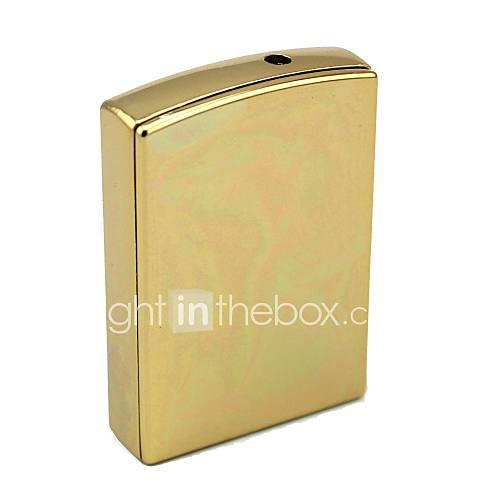 persönliche Gravur Goldmetall Elektronik-Feuerzeug