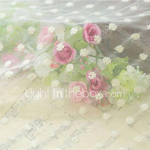 Qihang 40  40cm schöner Spitze Tuch photography Hintergrund mit weißen Pflaumenblüte Muster