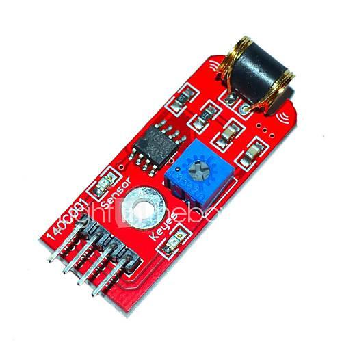 KEYES 801S Vibration Sensor Module - Red (DC 3~5V)