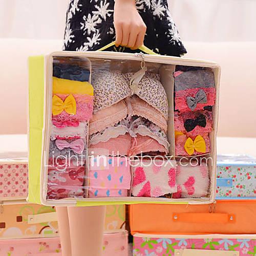 6271 kreative Vliese Unterwäsche Aufbewahrungsbox Socken