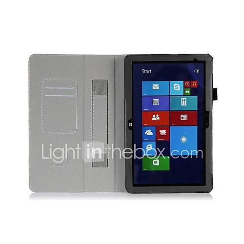 pajiatu PU-Leder Stand Tablet Kastenabdeckung mit Handhalter und Kartenslot für Dell Venue 11 pro 5130 10.8
