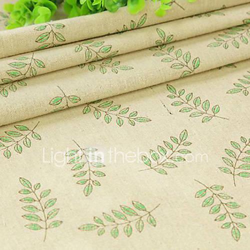 Qihang 50  50cm Leinentuch photography Hintergrund / Tapete Papier mit grünem Blatt